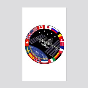 ISS Program Composite Sticker (Rectangle)